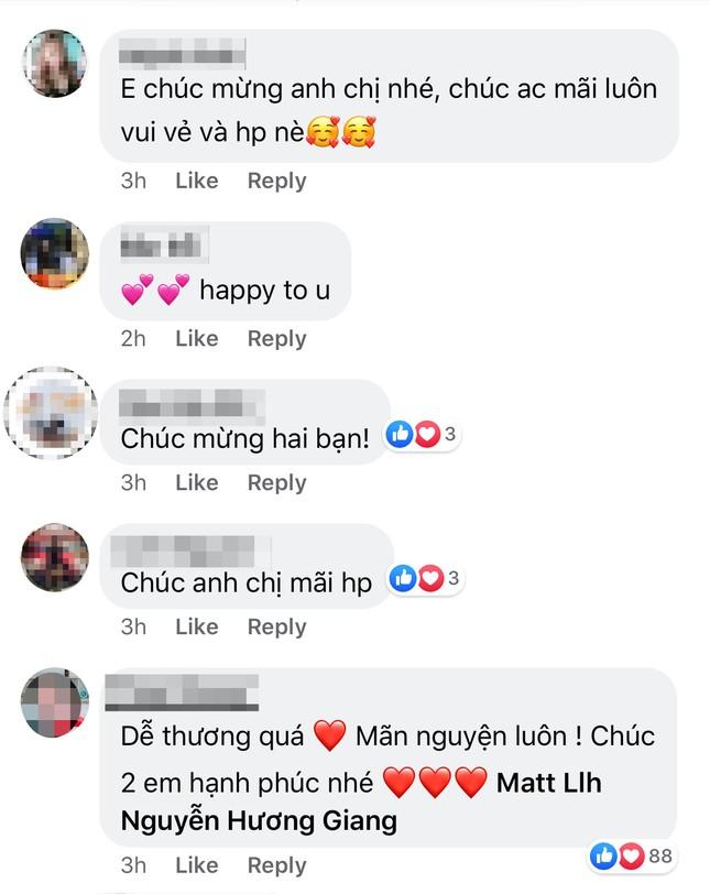Mặc kệ thị phi, Hương Giang - Matt Liu đăng ảnh hạnh phúc kỉ niệm 2 tháng bên nhau ảnh 2