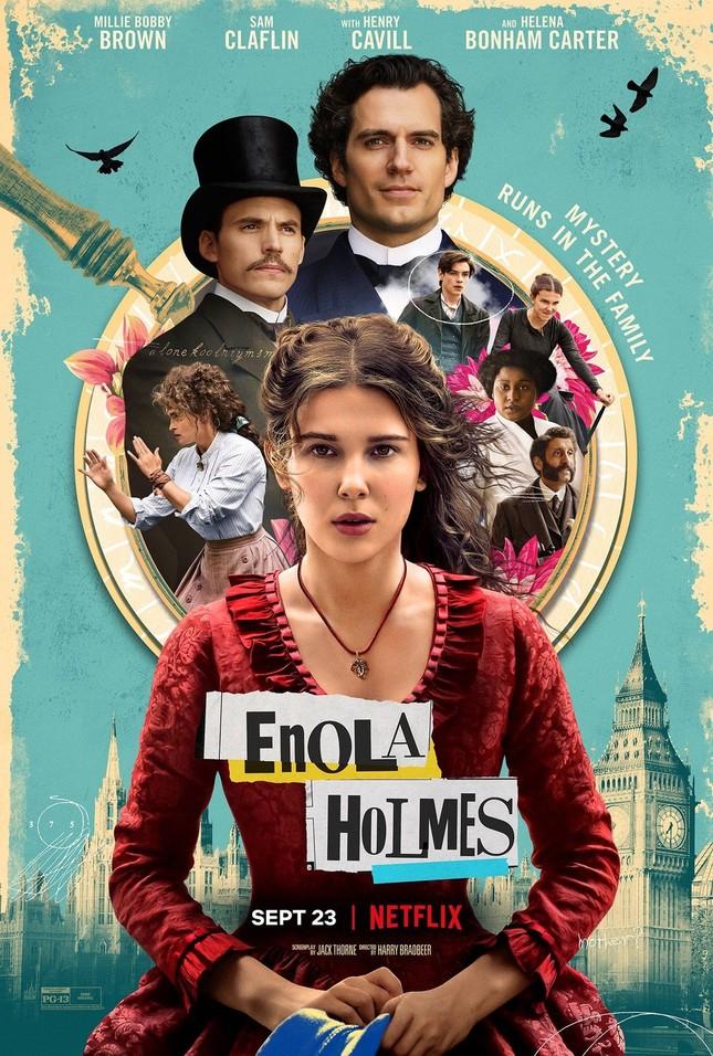 """Sao """"Stranger Things"""" hóa thân làm em gái Sherlock Holmes trong phim mới của Netflix ảnh 4"""