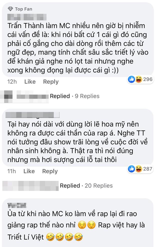 """Trấn Thành lại gây ra nhiều tranh cãi trong """"Rap Việt"""" khi phát ngôn về Rap và Underground ảnh 6"""