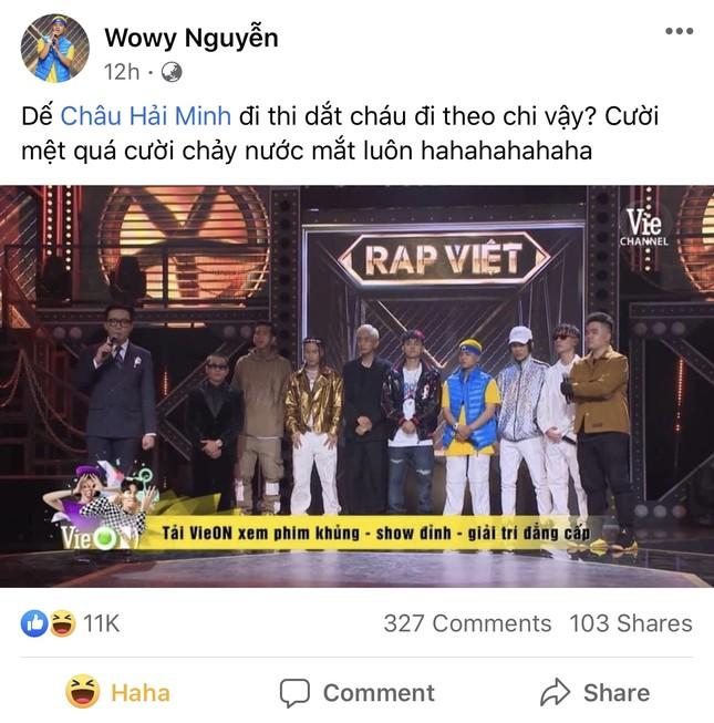 """Rap Việt: Hóa ra """"lão đại"""" Wowy vừa tình cảm, vừa hài hước và lầy lội như thế này đây ảnh 3"""