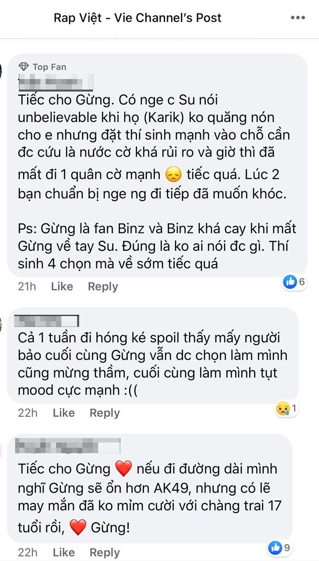 """Rap Việt: Gừng - Rapper trẻ """"cay nồng"""" khiến HLV Suboi """"cay mắt"""" vì tiếc nuối ảnh 8"""