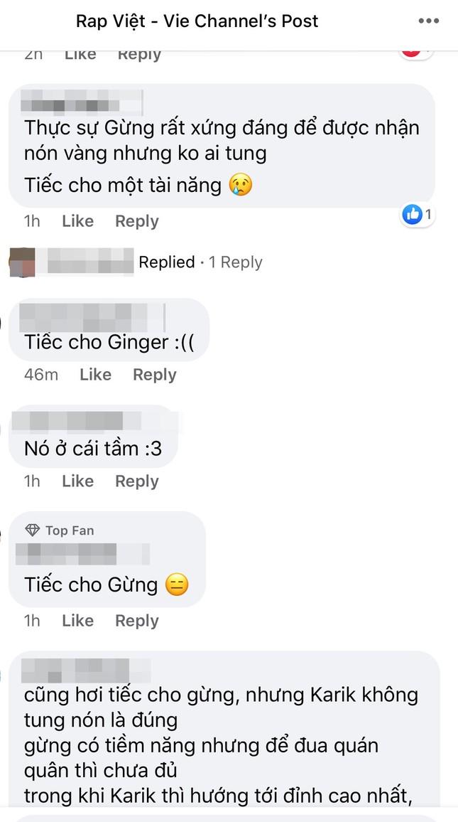 """Rap Việt: Gừng - Rapper trẻ """"cay nồng"""" khiến HLV Suboi """"cay mắt"""" vì tiếc nuối ảnh 9"""