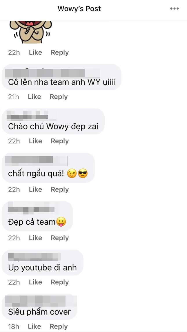 """Rap Việt: Team Wowy khiến fan phát sốt khi cover bài hát """"Chạy"""" của """"sư phụ"""" Wowy ảnh 6"""