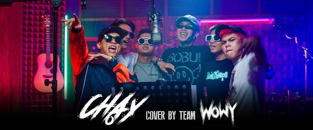 """Rap Việt: Team Wowy khiến fan phát sốt khi cover bài hát """"Chạy"""" của """"sư phụ"""" Wowy ảnh 2"""