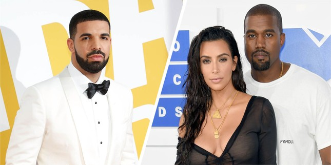 Vì sao Kim Kardashian ly hôn Kanye West nhưng netizen lại réo tên Taylor Swift, Drake? ảnh 4