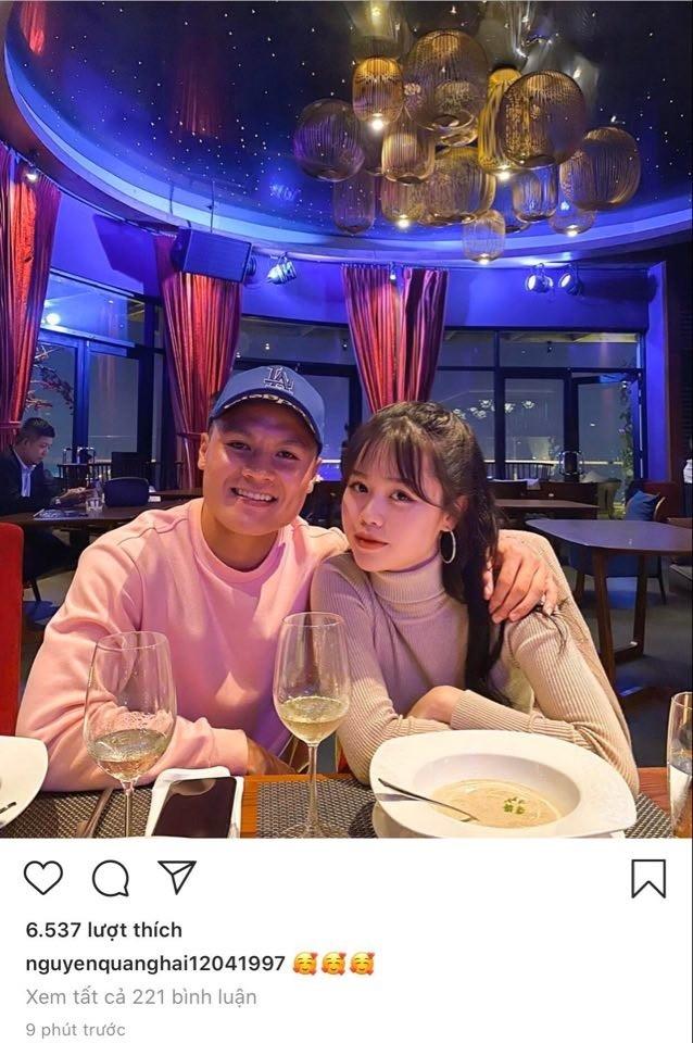 """Nhật Lê đăng status mới, dân mạng cho rằng cô """"cà khịa"""" bạn gái mới của Quang Hải? ảnh 1"""
