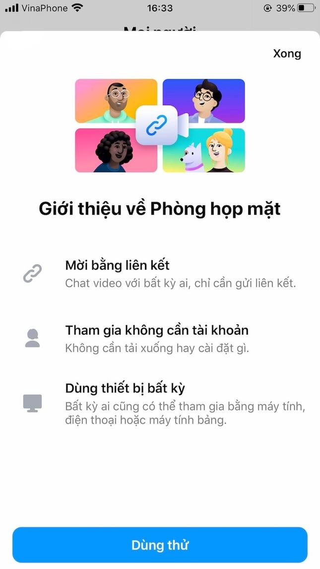 Hướng dẫn dùng Messenger Rooms, tính năng họp nhóm lên tới 50 người mà Facebook vừa ra mắt ảnh 5