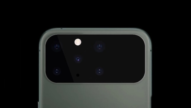 Chân dung iPhone 12 đẹp không thể rời mắt với màn hình tràn viền toàn vẹn, 5 camera sau ảnh 5