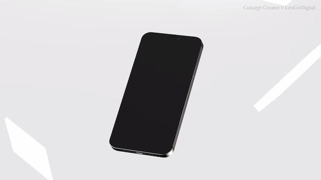Ngỡ ngàng thiết kế tuyệt đẹp của iPhone 12: Vuông vắn góc cạnh, kích thước bằng iPhone 5s ảnh 3