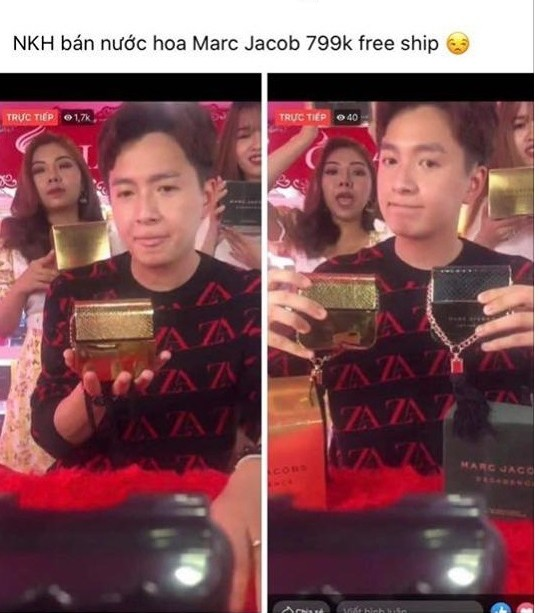 Thực hư việc Ngô Kiến Huy xuất hiện trên sóng livestream bán hàng online? ảnh 1