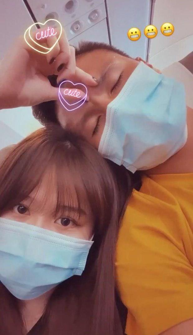 """Mới công khai hẹn hò nửa tháng, Quang Hải - Huỳnh Anh đã """"thương thương"""" nhau thế này đây! ảnh 3"""