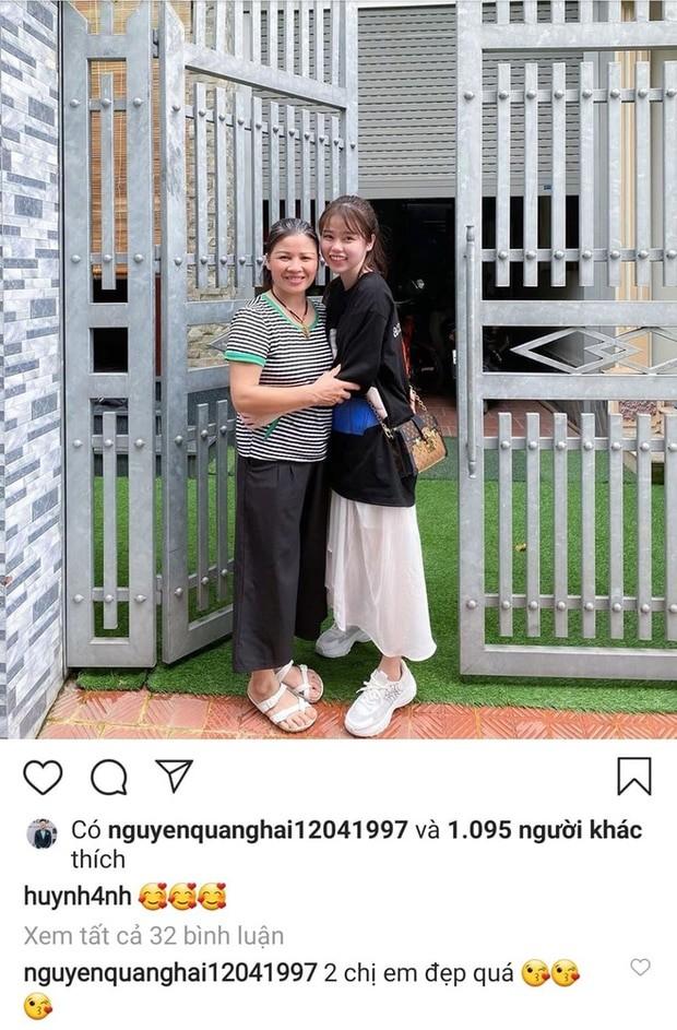 """Mới công khai hẹn hò nửa tháng, Quang Hải - Huỳnh Anh đã """"thương thương"""" nhau thế này đây! ảnh 4"""