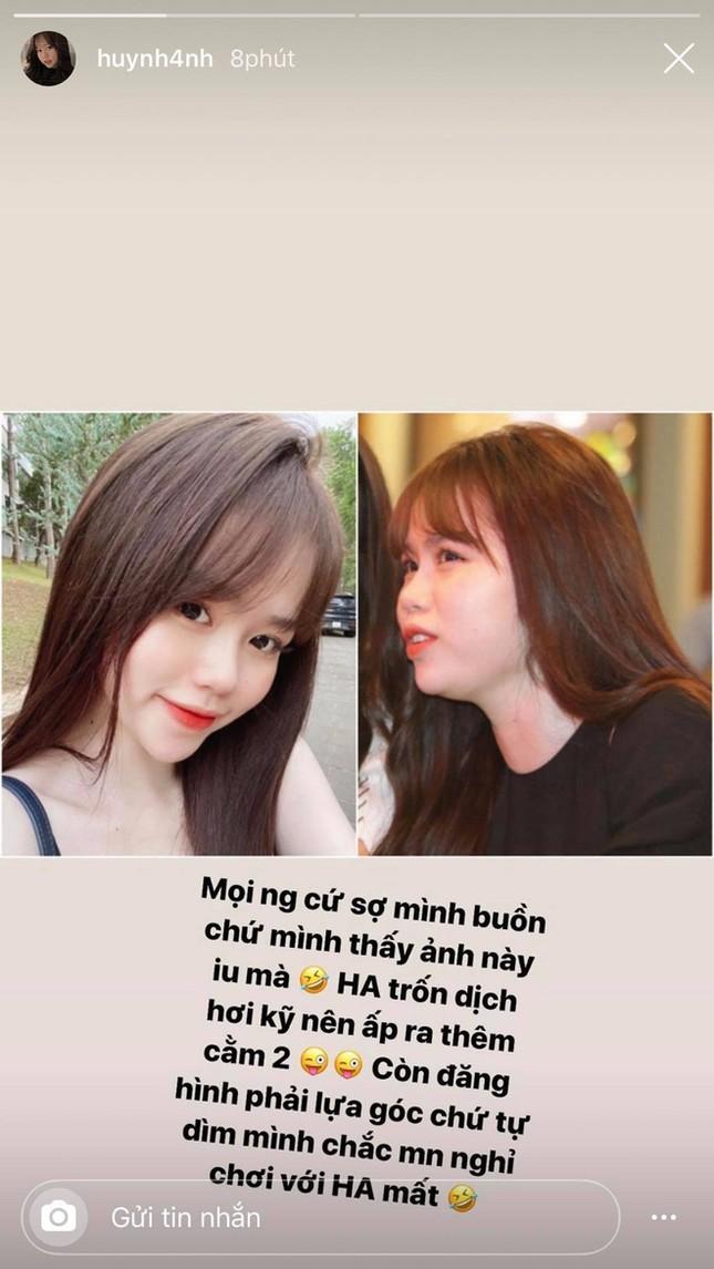 """Dân mạng """"soi"""" ảnh trên mạng khác ngoài đời, bạn gái Quang Hải: Vì trốn dịch nên có 2 cằm! ảnh 1"""