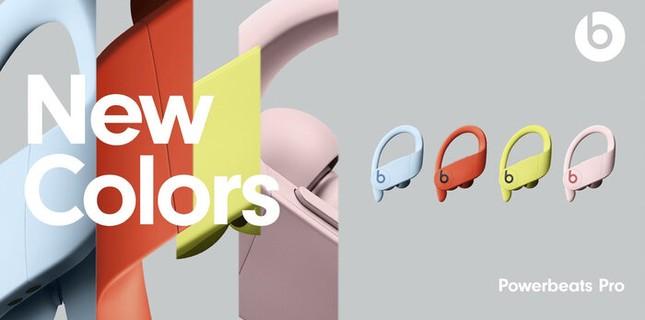 Apple xác nhận ra mắt 4 màu sắc mới cho tai nghe Powerbeats Pro, nhìn thôi cũng thấy đã! ảnh 1