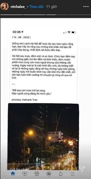 """Quang Hải đưa bạn gái về nhà bế cháu, tình cũ Nhật Lê hát """"Không thể cùng nhau suốt kiếp"""" ảnh 4"""