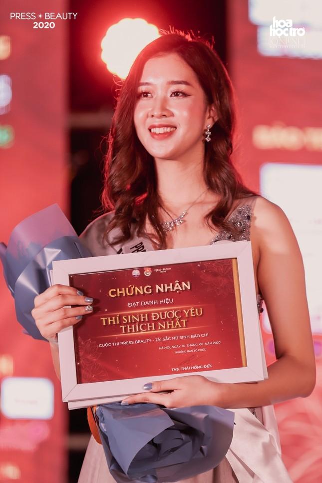"""Chung kết """"Press Beauty"""": Sinh viên lớp Xã hội học trở thành Hoa khôi Báo chí 2020 ảnh 10"""