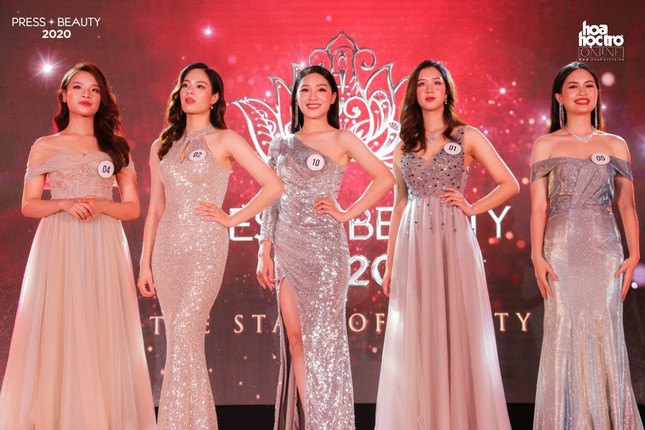 """Chung kết """"Press Beauty"""": Sinh viên lớp Xã hội học trở thành Hoa khôi Báo chí 2020 ảnh 11"""