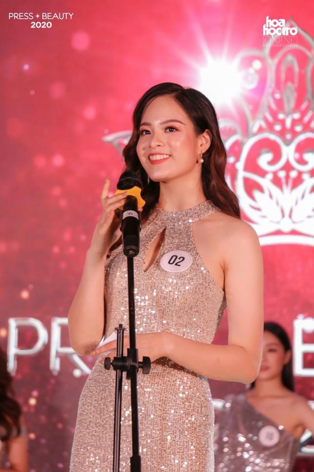 """Chung kết """"Press Beauty"""": Sinh viên lớp Xã hội học trở thành Hoa khôi Báo chí 2020 ảnh 12"""