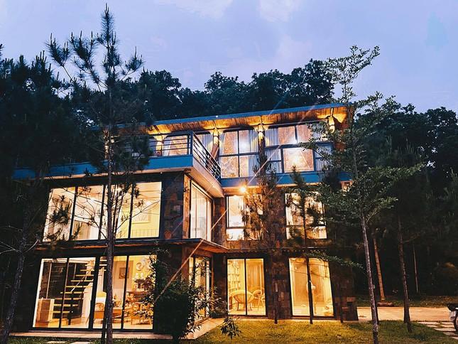 """Tha hồ """"sống ảo"""" ở villa nhà kính giữa rừng thông cách trung tâm Hà Nội 1 tiếng chạy xe! ảnh 12"""
