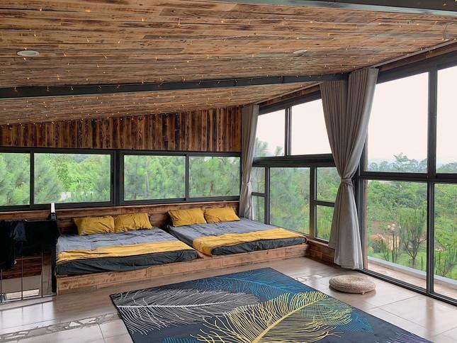 """Tha hồ """"sống ảo"""" ở villa nhà kính giữa rừng thông cách trung tâm Hà Nội 1 tiếng chạy xe! ảnh 7"""