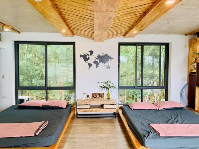 """Tha hồ """"sống ảo"""" ở villa nhà kính giữa rừng thông cách trung tâm Hà Nội 1 tiếng chạy xe! ảnh 8"""