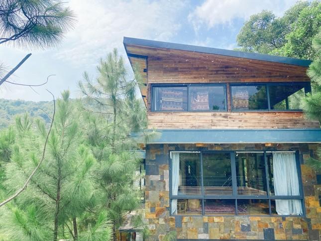 """Tha hồ """"sống ảo"""" ở villa nhà kính giữa rừng thông cách trung tâm Hà Nội 1 tiếng chạy xe! ảnh 6"""