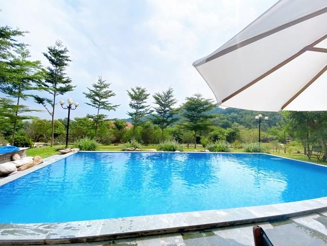 """Tha hồ """"sống ảo"""" ở villa nhà kính giữa rừng thông cách trung tâm Hà Nội 1 tiếng chạy xe! ảnh 11"""