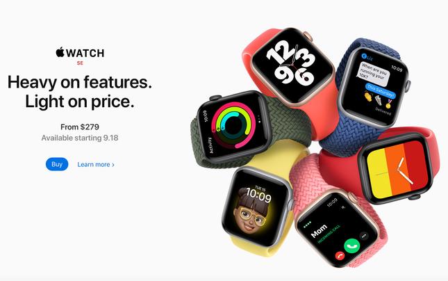 Apple ra mắt Apple Watch Series 6 cực xịn nhưng iFan lại chú ý tới Apple Watch SE giá rẻ ảnh 4