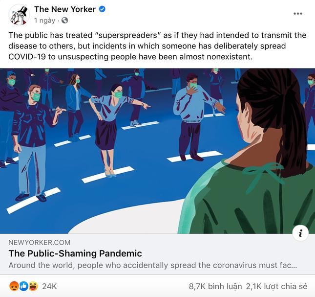"""Báo Mỹ gây tranh cãi với bài viết về """"bệnh nhân 17"""": Bị lên án do """"ganh tị đẳng cấp""""? ảnh 1"""