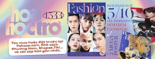 Hoa Học Trò 1344: Trong trẻo như tiết trời Thu, tặng ngay fanbook Fashion X idol ảnh 2