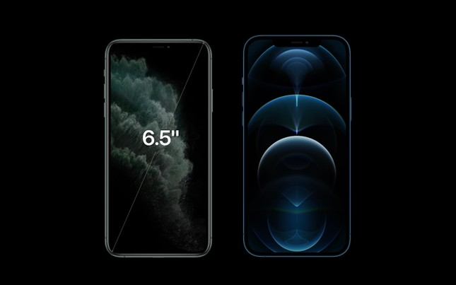 Phiên bản iPhone 12 Pro, iPhone 12 Pro Max: Màn hình lớn viền mỏng, có thêm 2 màu sắc mới ảnh 6