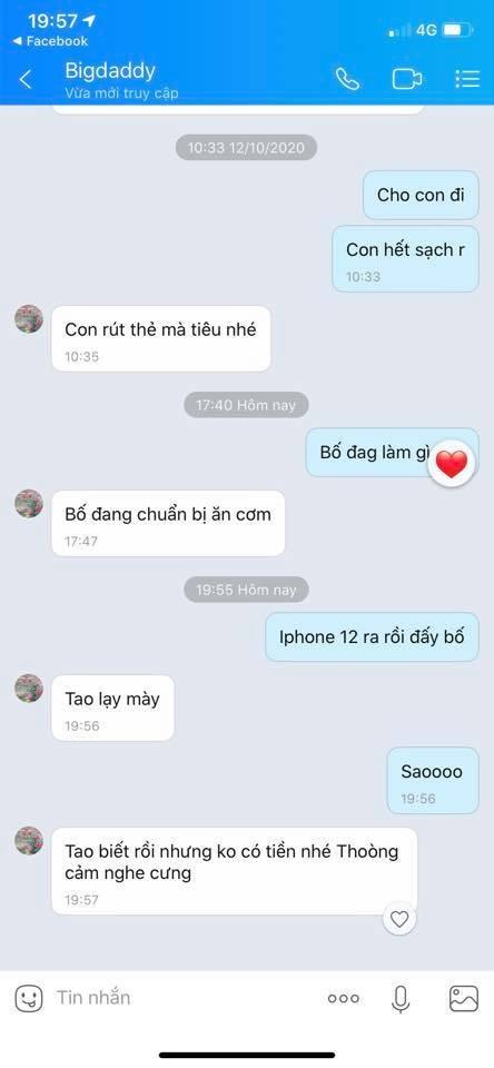 Thử thách mới: Nhắn tin cho phụ huynh hỏi mua iPhone 12 và những cái kết bất ngờ ảnh 2