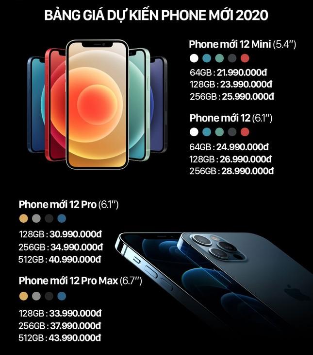 """iPhone 12 dự kiến về Việt Nam với giá từ 22 triệu đồng, các iFan đua nhau """"đặt gạch"""" ảnh 2"""