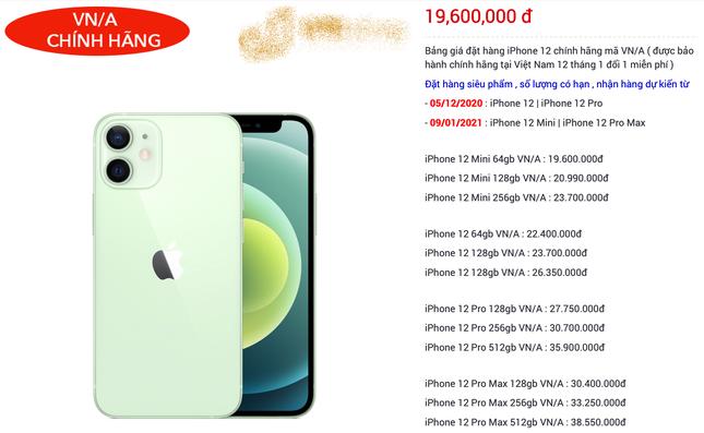 """iPhone 12 dự kiến về Việt Nam với giá từ 22 triệu đồng, các iFan đua nhau """"đặt gạch"""" ảnh 3"""
