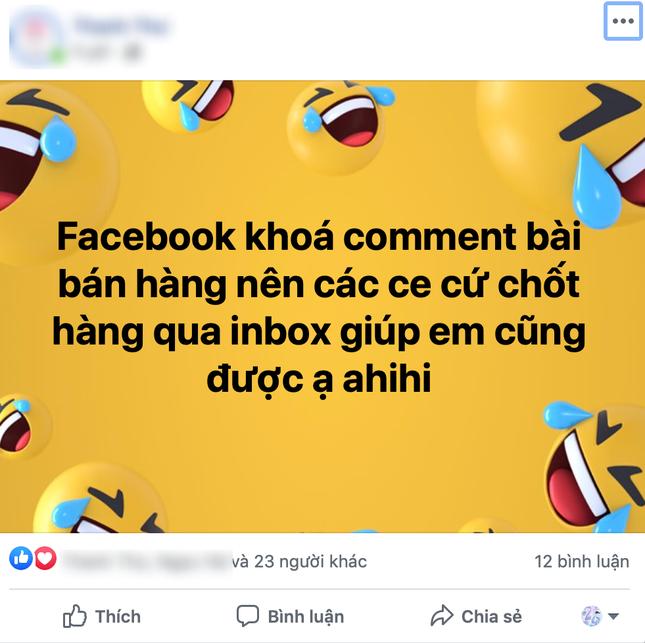 Người dùng Facebook Việt Nam hoang mang khi bài đăng từ 2 hình trở lên bị khoá bình luận ảnh 2