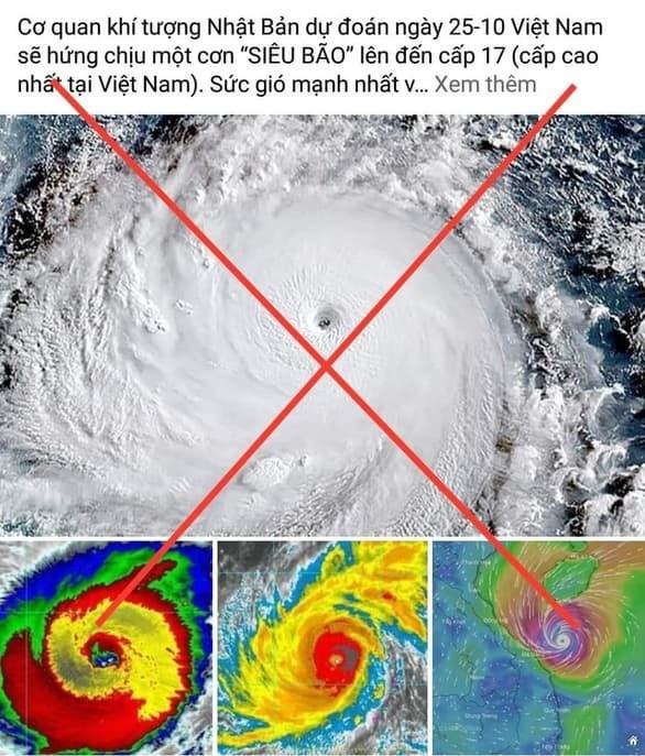 Thực hư thông tin có bão cấp 17 sắp đổ bộ vào miền Trung ảnh 1