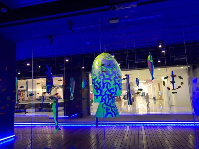 """Triển lãm """"Biển sống"""": Không gian nghệ thuật kì ảo mang vẻ đẹp của biển dành cho giới trẻ ảnh 3"""
