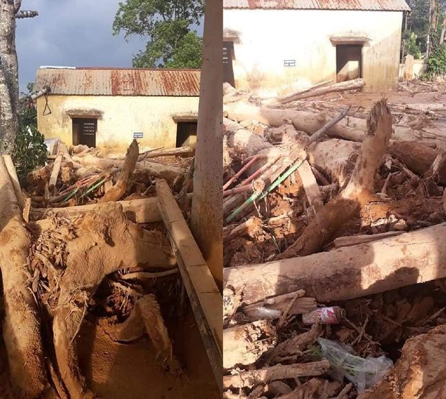 Trường học ở Quảng Trị ngập trong bùn đất dày 1m, học sinh không thể đến trường gần 3 tuần ảnh 3