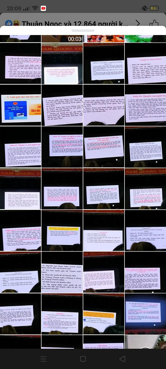 Sinh viên ghi chép bài: Cầm điện thoại chụp, nhưng có mở bài ra học không thì... chưa biết ảnh 3
