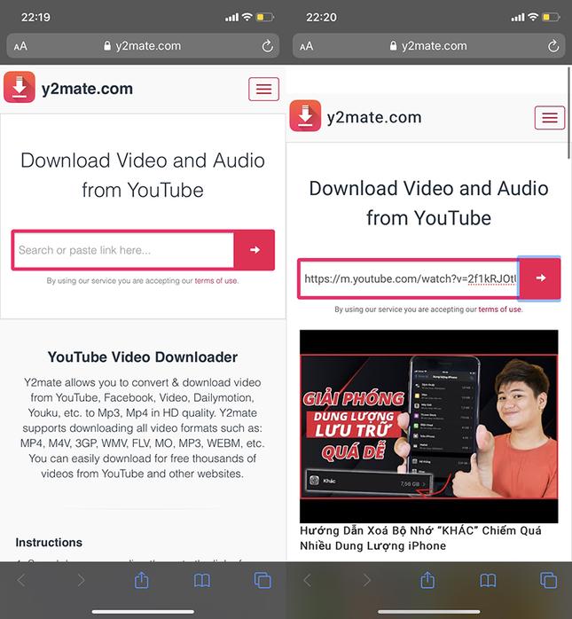 Đây là cách tải video từ YouTube về iPhone cực đơn giản, bạn biết chưa? ảnh 2