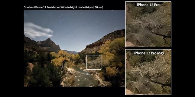So sánh camera iPhone 12 Pro với iPhone 12 Pro Max: Có sự khác biệt nhưng không nhiều ảnh 2