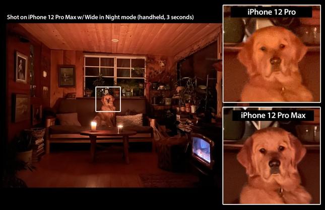 So sánh camera iPhone 12 Pro với iPhone 12 Pro Max: Có sự khác biệt nhưng không nhiều ảnh 1