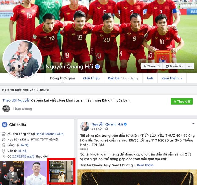 """Sau 10 ngày xác nhận chia tay Huỳnh Anh, Facebook Quang Hải lại có động thái """"lạ lùng"""" này ảnh 2"""