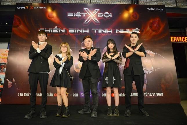 Biệt đội X - Chiến binh tinh nhuệ: Các streamer nổi tiếng hội tụ trong show truyền hình tế ảnh 1
