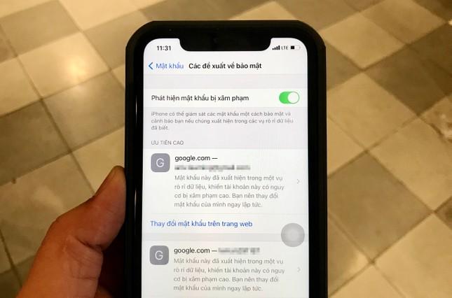 """Bạn đã biết cách sử dụng tính năng mới """"phát hiện mật khẩu bị lộ"""" trên iOS 14 chưa? ảnh 1"""