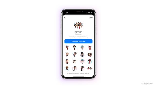 Facebook Messenger và Instagram có thêm giao diện BTS cực xịn xò dành cho các ARMY ảnh 3