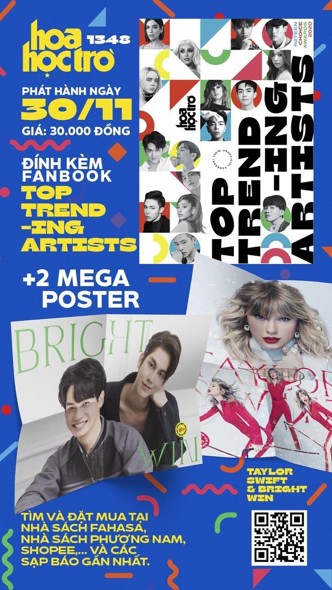 Đón mùa Đông đến cùng Hoa Học Trò 1348: Tặng bạn fanbook Top Trending Artists 2020 ảnh 1