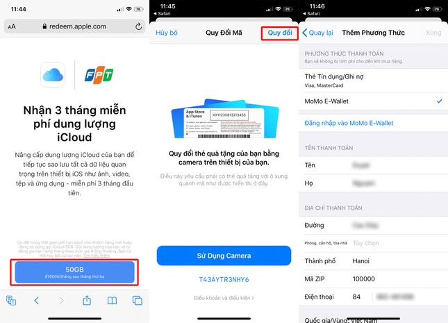 HOT: Hướng dẫn nhận 50GB iCloud miễn phí, dùng trong 9 tháng, nhanh tay nào bạn ơi! ảnh 2