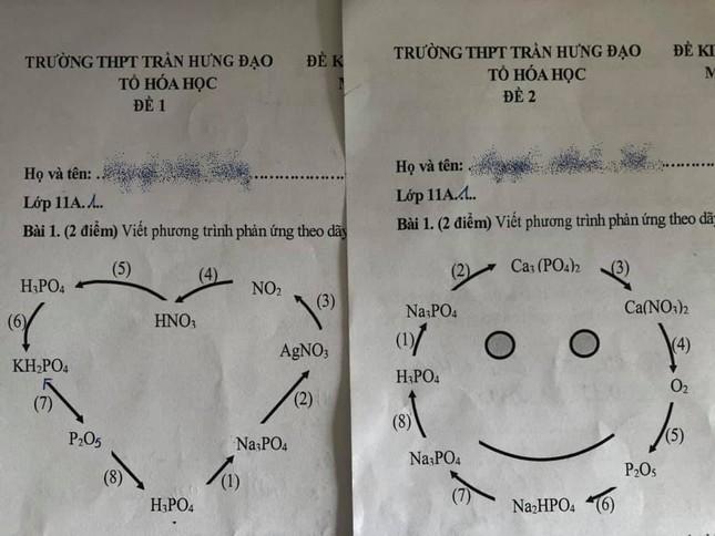 Cách ra đề kiểm tra bá đạo của giáo viên môn Hóa: Học sinh nhìn vào đều phải bật cười! ảnh 1
