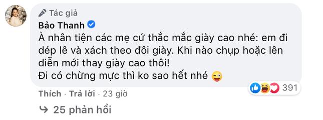 Bị nhắc nhở vì đang mang bầu mà đi giày cao gót, diễn viên Bảo Thanh liền giải thích lý do ảnh 5